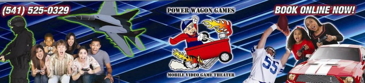Power Wagon Games Mobile Video Game Theater of Eugene, Oregon
